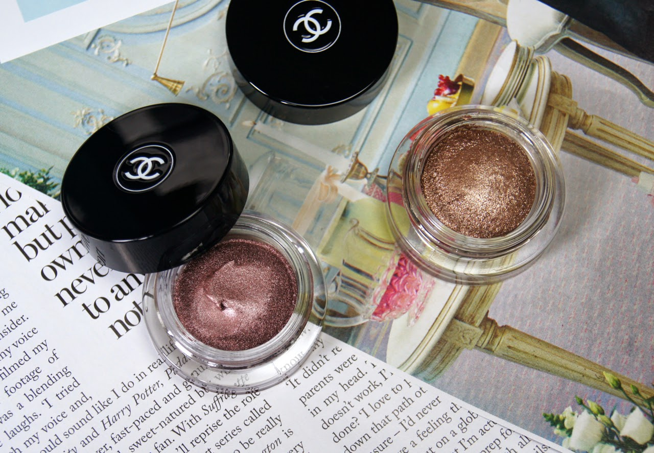 chanel illusion d'ombre cream eyeshadows review worth the hype