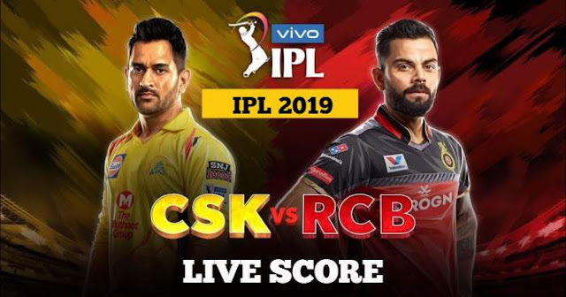 IPL 2018 Match 1 CSK vs RCB Live Score and Full Scorecard