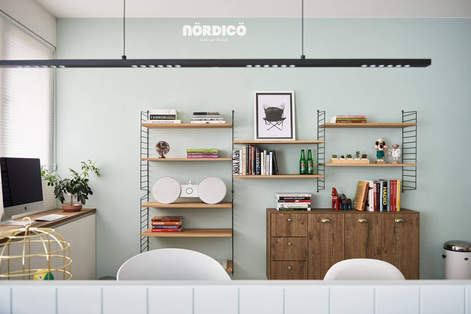 Nordic Decor Inspiration In Two Colorful Homes | Interior Design Blog