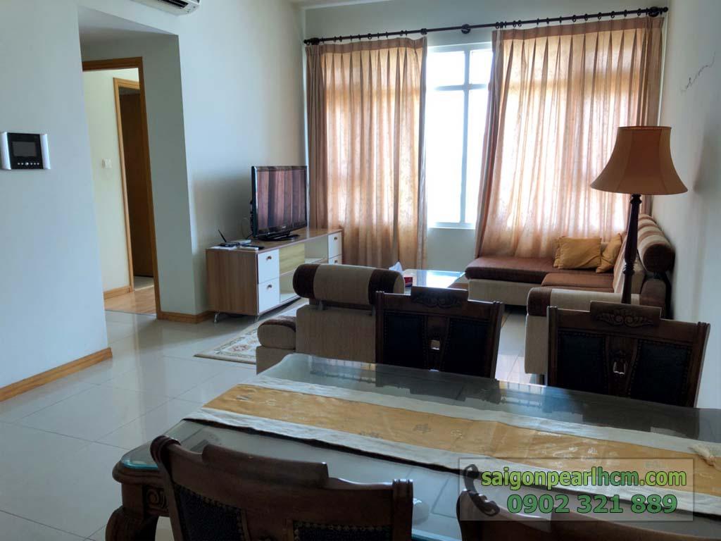Căn hộ 88m2 cho thuê / bán Saigon Pearl Bình Thạnh full nội thất  - hình 6
