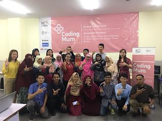 Coding Mum Batam 2018 :  Kala Ibu-ibu Belajar Coding Dengan Menyenangkan2