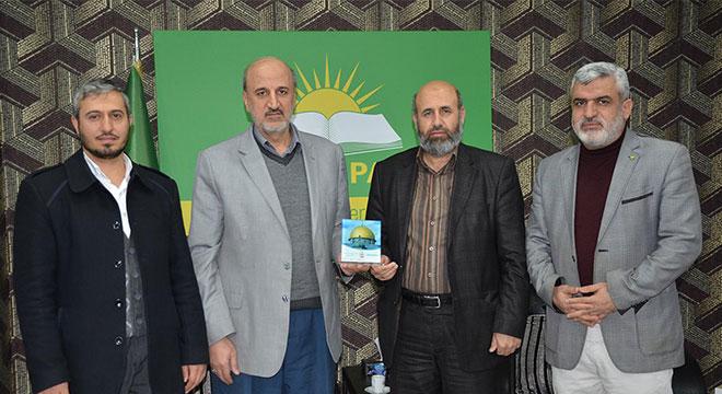 Filistin Âlimler Birliği Genel Sekreteri Nevaf Tekruri'den HÜDA PAR'a ziyaret
