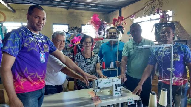 A escola de samba Acadêmicos de Venda Nova  oferece Cursos Profissionalizantes para a comunidade São João Batista em Venda Nova/BH