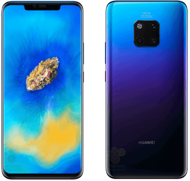 Huawei Mate 20 Pro: Specs, Features and Official Images