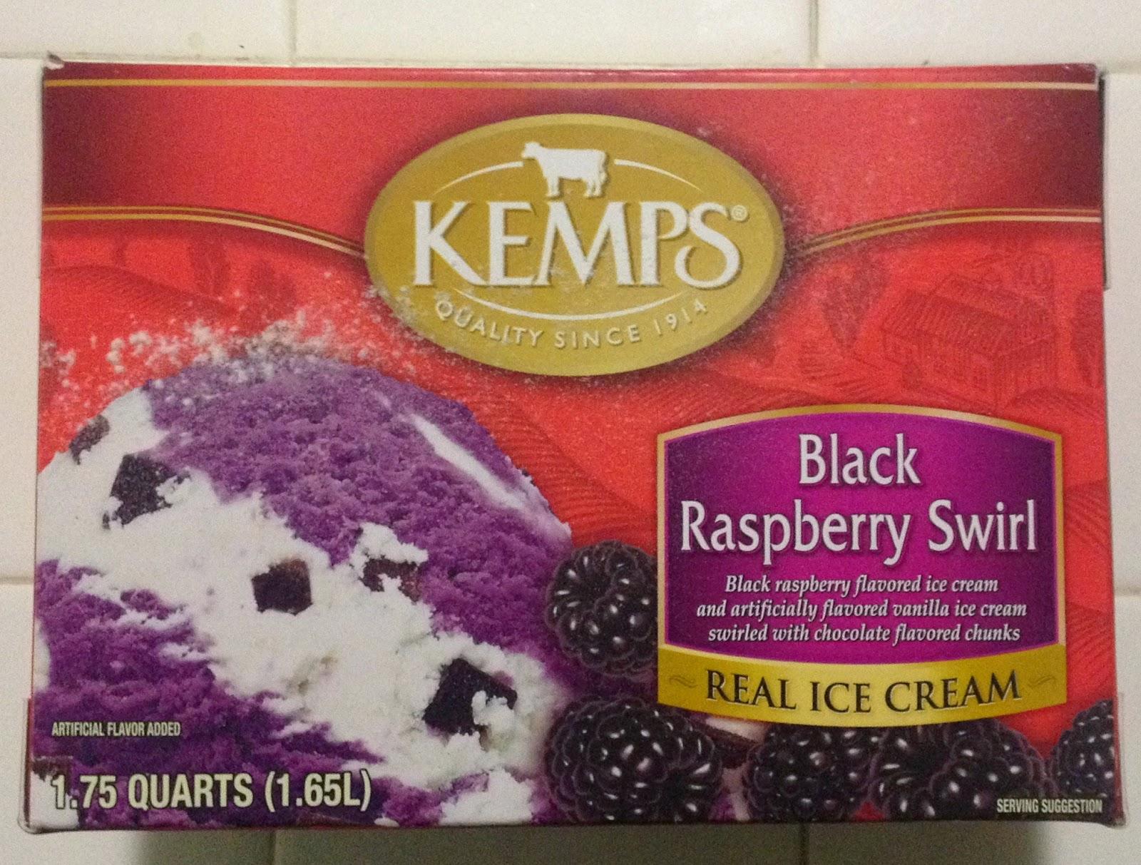 Kemps Black Raspberry Swirl
