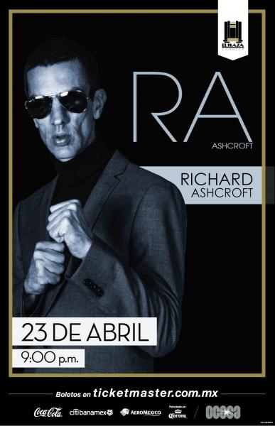 Richard Ashcroft viene al Plaza Condesa