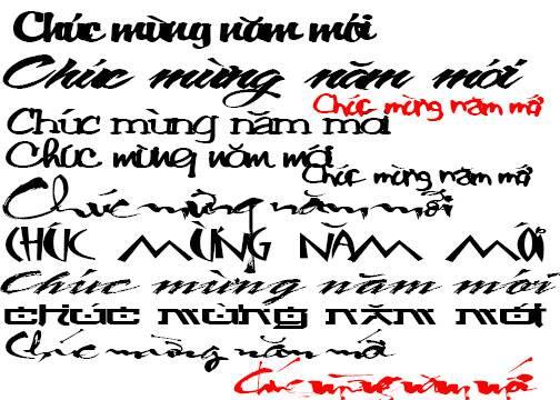 Chia Sẽ Font Chữ Thư Phap Việt Hóa