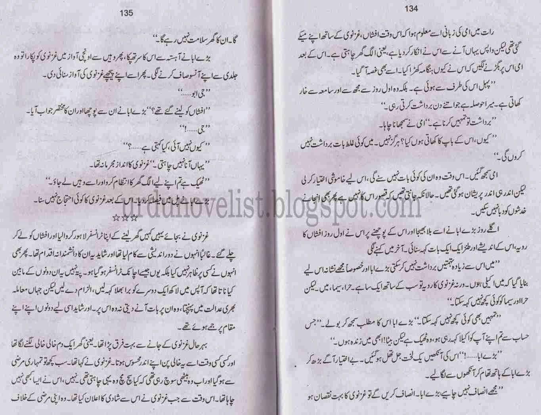 Kitab Dost: Dil ka darwaza khula hai novel by Nighat
