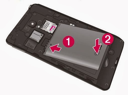 Installing the Micro SIM card and battery 3