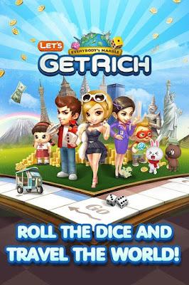 LINE Let's Get Rich Apk