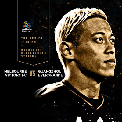 Live Streaming Melbourne Victory vs Guangzhou Evergrande ACL 23.4.2019