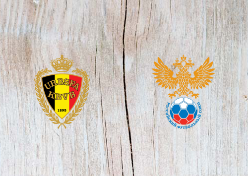 Belgium vs Russia Full Match & Highlights 21 March 2019