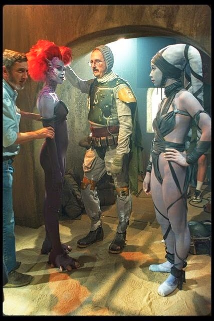 bobba fett with his helmet off