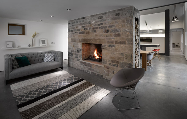 Log Burner Fireplace Ideas No Chimney