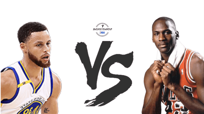 stephen curry vs Michael Jordan