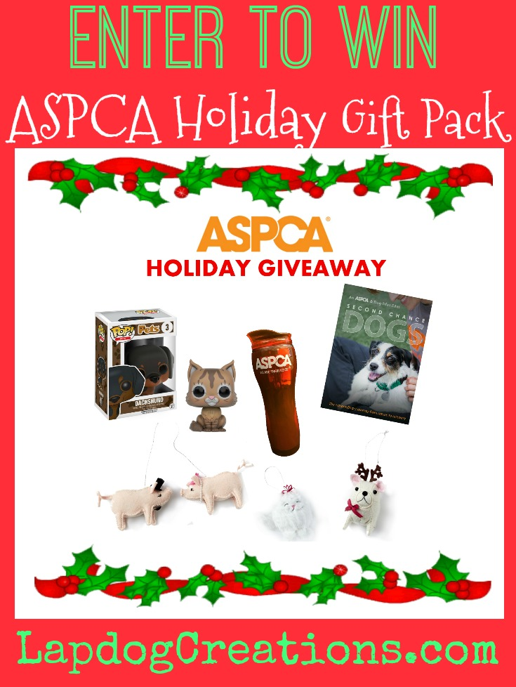 Lapdog creations aspca holiday gift pack giveaway aspca holiday gift pack m4hsunfo