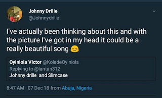 Johnny Drille Reveals Plan With Slimcase