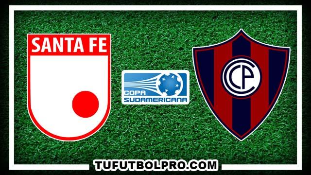 Ver Independiente Santa Fe vs Cerro Porteño EN VIVO Por Internet Hoy 22 de Septiembre 2016