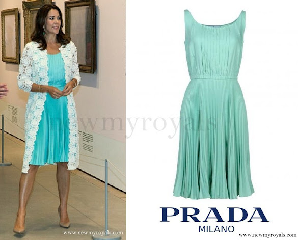 Crown Princess Mary wore Prada Short Dress