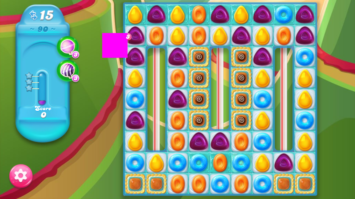 Candy Crush Jelly Saga 90