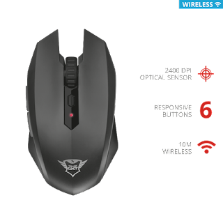 TRUST 22417 MOUSE GIOCO WIRELESS GXT115