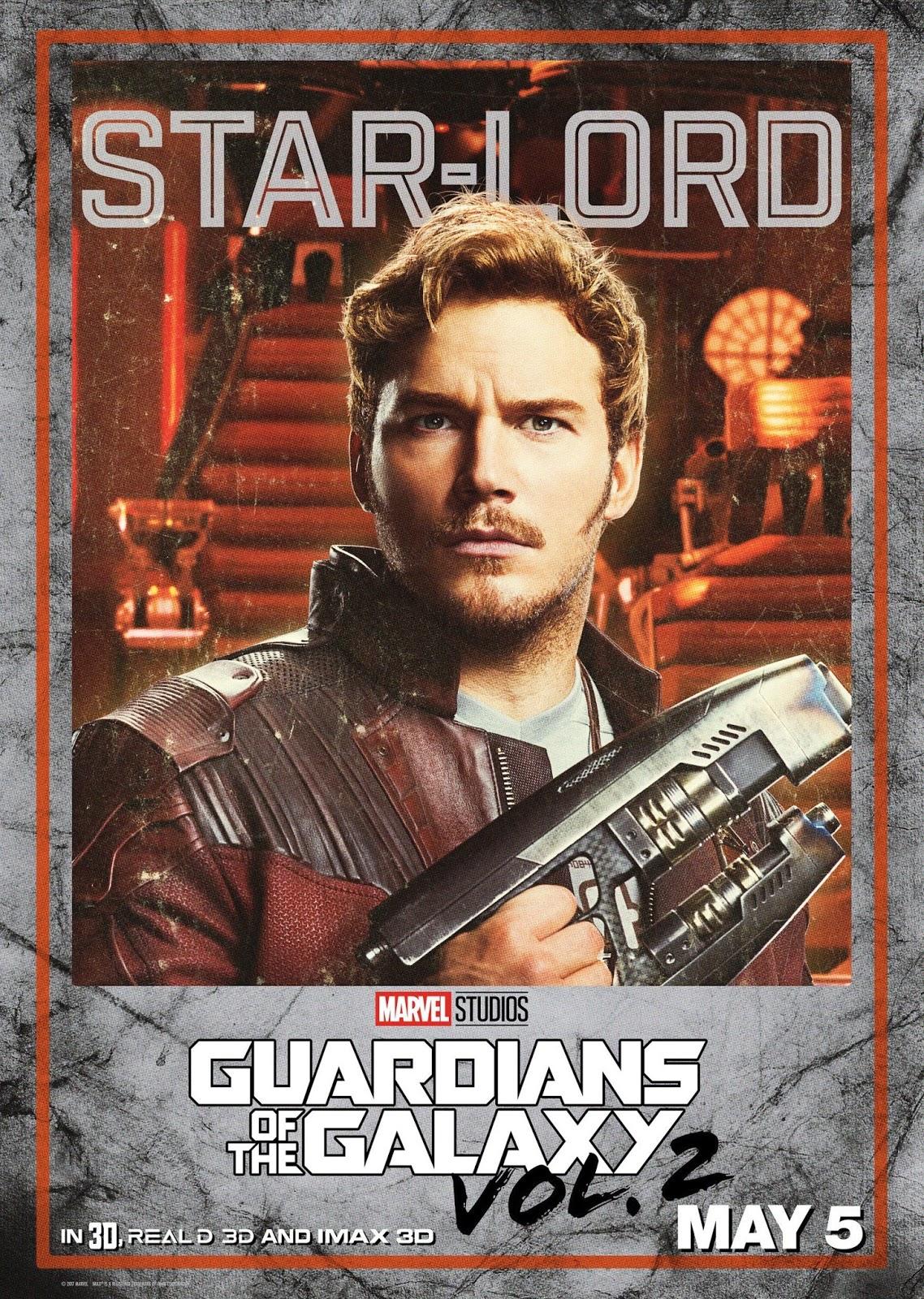 Стражи Галактики Часть 2, Guardians of the Galaxy Vol 2, Звёздный Лорд, Старлорд, Star-Lord
