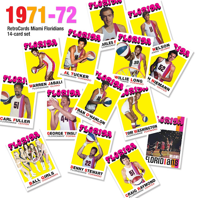 Topps basketball cards NBA ABA
