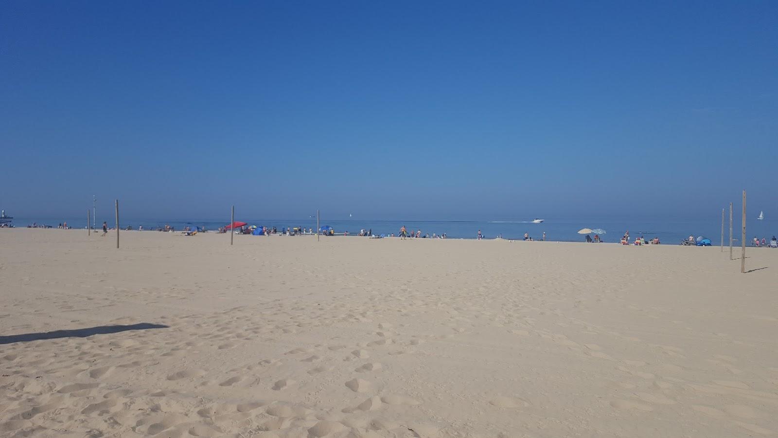 South Haven beach, Michigan