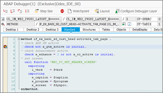 SAP ABAP Central: Adding custom tab to billing document Part - 1