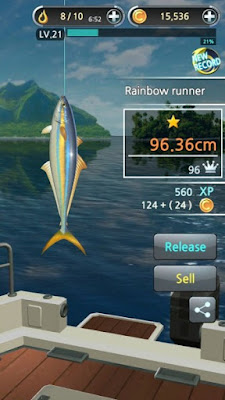 Fishing Hook Apk v1.3.2 Mod (Ad-Free/Money)
