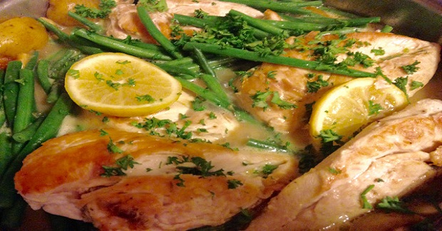 Lemon Skillet Chicken Recipe