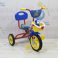 Sepeda Roda Tiga BMX PMB 919-SM Cat Musik Sandaran