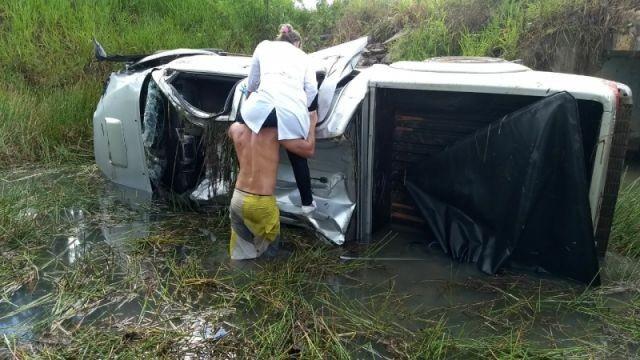 Aquaplanagem causa acidente grave com vítima fatal e três feridos na BR 429