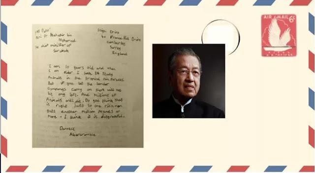 Jawapan Balas Tun Mahathir Kepada Kanak-Kanak England Pada 1987