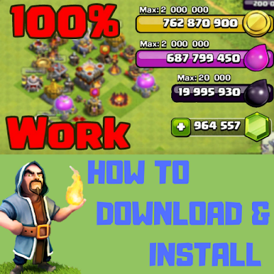 clash of clans how to download and install latest mod
