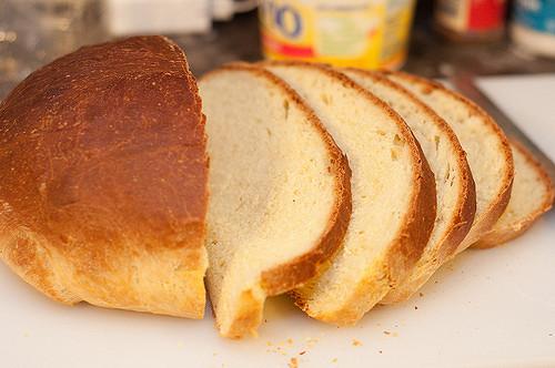 Pan libre de gluten preparado de forma casera, excelente receta