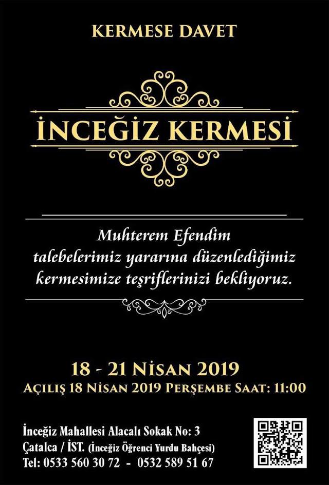 İstanbul Çatalca İnceğiz Kermesi