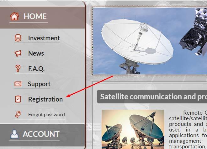 Регистрация в Remote-Control