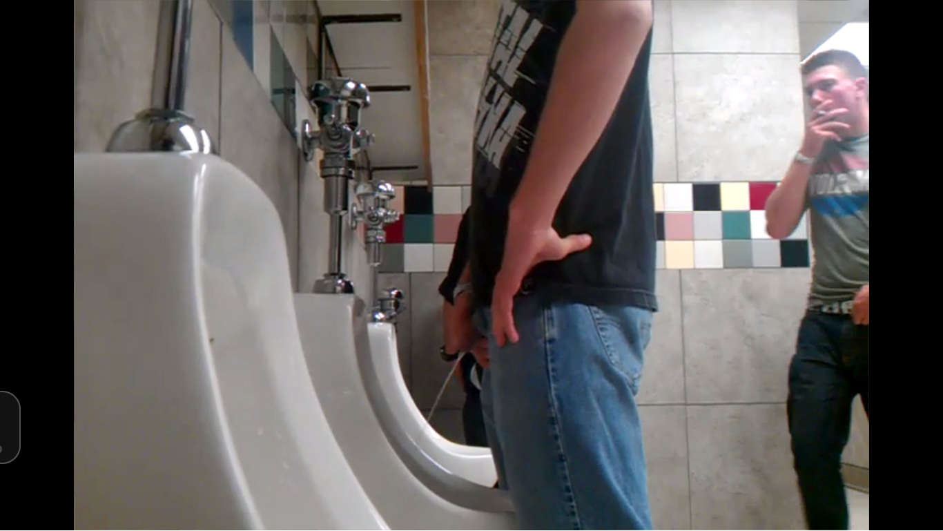TUBEXPOSED Straight guys exposed on the net hidden camera in restrooms  hot dicks pissing