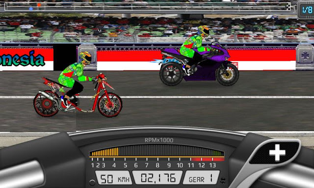Download Game Drag Bike Indonesia 201M Apk Mod By Afree