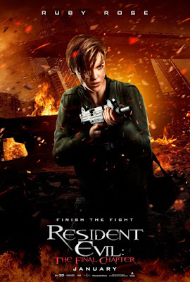 Resident Evil: The Final Chapter Ruby Rose Poster