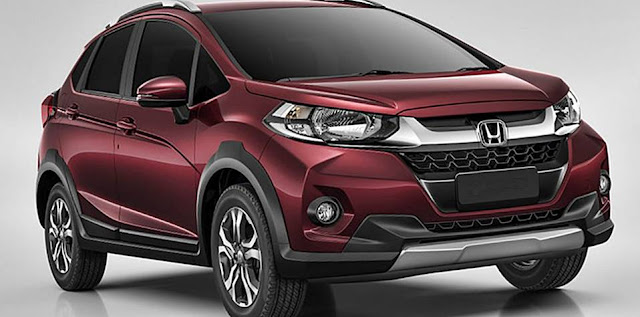 Honda WR-V: Jacked-up Jazz revealed for South America