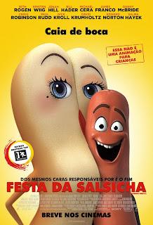Pôster/capa/cartaz nacional de FESTA DA SALSICHA (Sausage Party)