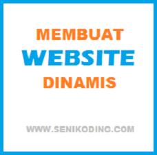 cara membuat website dinamis