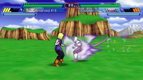 Dragon Ball Z: Shin Budokai 2 (EUR) PSP ISO Screenshots #3