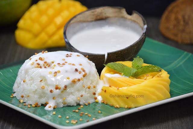 Thai Style Mango Sticky Rice