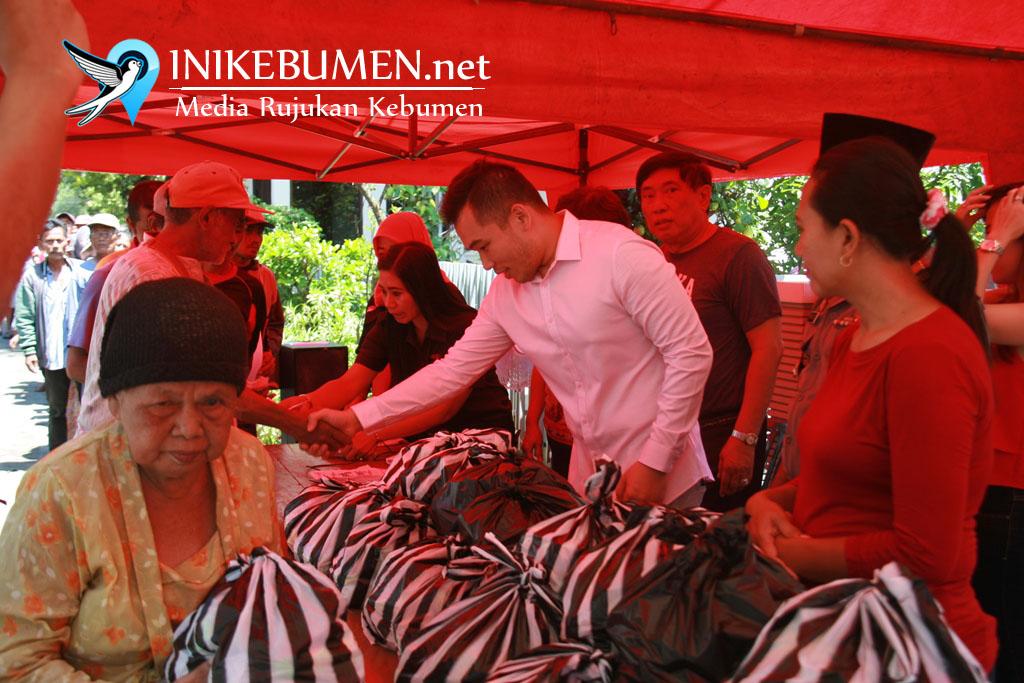 Rayakan Imlek, Pemilik Muncul Group Bagikan Sembako
