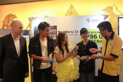 Indosat Hadirkan Paket Bundling BlackBerry Z3