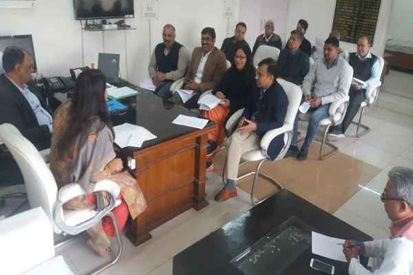 faridabad-voter-list-final-printing-done-meeting-jitender-kumar-adc