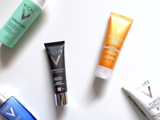 Vichy Dermablend [3D CORRECTION] & Vichy Ideal Soleil SPF 50 3-IN-1 Tinted Anti-Dark Spots Care Review